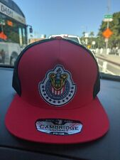 LAS CHIVAS RALLADAS DE GUADALAJARA MEXICO  HAT RED BLACK SNAP BACK