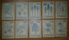 Scott's Canada Sb86 Booklets - 10 copies all Mnh.