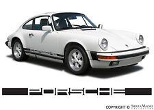Porsche® Side Decal, 911 (74-77), 911.559.319.01, Genuine