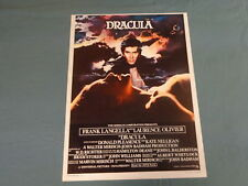 ORIGINAL MOVIE POSTER / AFFICHE - DRACULA ( LAURENCE OLIVIER...)
