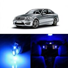 18 x Super Blue LED Interior Light Package For 2008 -2014 Mercedes C Class W204