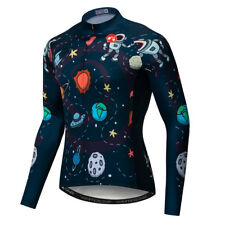 Men's Cycling Jersey Bike Clothing Bicycle Winter Wheel Long Sleeve Top Jacket