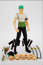 New Anime One Piece Roronoa Zoro Past Blue Action Model Figure With box