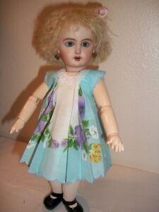 "11"" Bleuette Pretty  ""Violets"" Hanky Dress and Slip  No Doll"