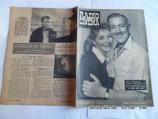 RADIO CINEMA TELEVISION N°312 08/01/1956 ODILE VERSOIS ALEC GUINNESS G13