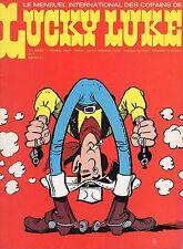 LUCKY LUKE NUMERO 7  SUPER  RARE ANNEE 1974 (SANS LE POSTER CENTRAL)