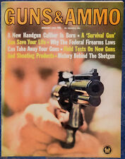 Vintage Magazine GUNS & AMMO January, 1964 !!! MARLIN Premier Mark I SHOTGUN !!!