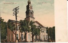 1907 The Court House in Winchester, KY Kentucky PC