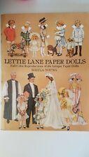 Lettie Lane Paper Dolls Full Color Reproductions of 24 Antique Paper Dolls
