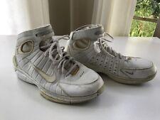 2004 OG Nike Air Zoom Huarache 2K4 All White Size 8.5 - laser kobe jordan 2k5