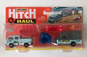 2021 MATCHBOX Hitch & Haul - 1990 VW Transporter Crew Van (Version B) New