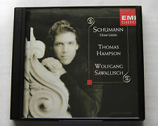Thomas HAMPSON - W.SAWALISCH / SCHUMANN Heine lieder HOLLAND CD EMI (1997) M/NM