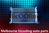 Aluminum Radiator For FORD BA BF FALCON V8 FAIRMONT XR8 XR6 TURBO Auto Manual