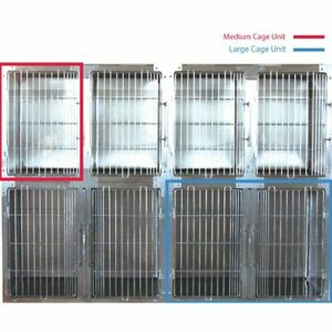 Groom Professional Top Grade Stainless Steel Waiting Cage, Medium