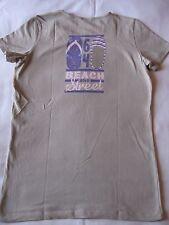 T-shirt 64 beige, sérigraphié dos, manches courtes - T. L – Très bon état