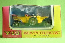 Modellauto - Matchbox - Models of Yesteryear Y-13 - 1911 Daimler - OVP