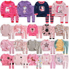 "Vaenait Baby Kids Toddler Girls Long Clothes Pajama Set 18M-12Y ""G40 Style"""