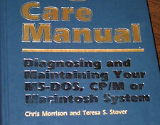 1984 Apple Macintosh Care Repair Manual for 128K Mac + Kaypro Atari 520ST IBM PC