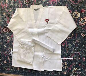 Century Martial Arts Karate Uniform Gi Student White Size 5 (Adult Large)