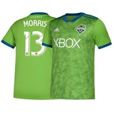 Jordan Morris Seattle Sounders FC Adidas Youth Green Climalite Replica Jersey