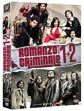 Romanzo Criminale - Stagioni 1-2 DVD - totalmente in italiano