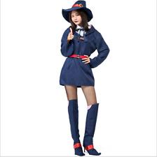 Halloween Cosplay Dress Coustume Uniform Little Witch Academia