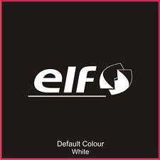 ELF vitre arrière Decal, vinyl, autocollant, graphiques, voiture, sièges, Racing, N2078