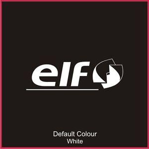 Elf Rear Window Decal, Vinyl, Sticker, Graphics,Car, Seats, Racing, N2078