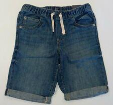 NWT GAP Boys Pull-On Denim Shorts XL Medium Wash
