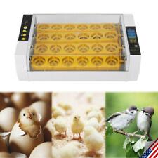 Egg Incubator Digital Automatic Turner Hatcher Chicken Eggs Temperature Control
