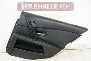 BMW E61 E60 5er Türverkleidung Türpappe hinten rechts Leder Dakota schwarz