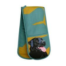 Black Labrador  Gundog Cooks Oven Glove Gauntlet modern art Shooting Gift