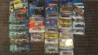 Johnny Lightning Nascar Stock car legends Hotwheels Real Rider Lot 1/64 scale.