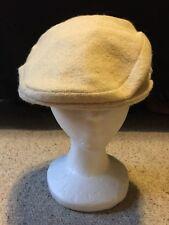Vintage 100% Pure Wool IRISH TWEED Ireland Cabbie Hat Cap