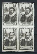 France Stamps   1946   Charity #746   MNH OG   Block of 4