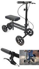 Knee Walker Steerable Scooter Medical Foldable Leg Allternative Crutch w/Brakes