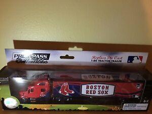 2011 BOSTON RED SOX PETERBILT TRAILER/PRESS PASS