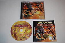 Star Wars Demolition Sega Dreamcast Video Game Complete
