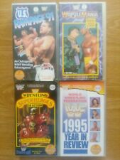 WWF WRESTLEMANIA 7 US RAMPAGE 91 WRESTLING SUPERHEROES 95 YEAR IN REVIEW VHS WWE