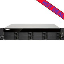 QNAP TS-873U-RP 24tb NAS Server 6x4000gb Western Digital Blue Drives