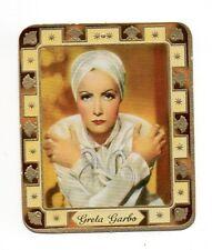 Greta Garbo 1936 Garbaty Passion Film Star Embossed Cigarette Card #87