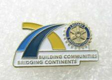 Rotary International Building Communities Bridging Continents Lapel Pin (A139)