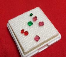 UN véritable Rubis Rose_ Pierre précieuse env. 0,14 carats