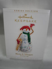 2006 Hallmark Keepsake Ornament Bluster B. Toboggan Snowtop Lodge #2