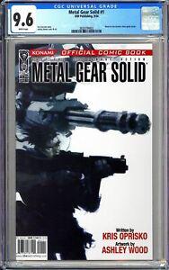 Metal Gear Solid #1 CGC 9.6 WP 2004 3828794002 Konami Video Game! MOVIE Soon!