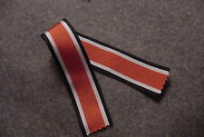 IRON CROSS 2ND CLASS  - GERMAN WWII MEDAL RIBBON FOR - REPLICA - 6 INCHES