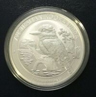 2019 Australia 1 Oz Silver Kookaburra Coin - Brilliant Uncirculated - In Capsule