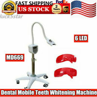 6LED Dental Teeth Whitening Machine Mobile Oral Bleaching Lamp Accelerator MD669