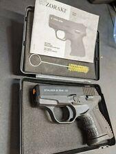 STALKER M2906 Black Semi Auto Zoraki 9mm PAK Simulator - Movie Prop Pistol Gun