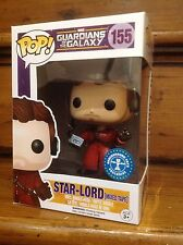 FUNKO POP! GOTG Star-Lord Mixed Tape #155 Exclusive Vinyl Figure NEW